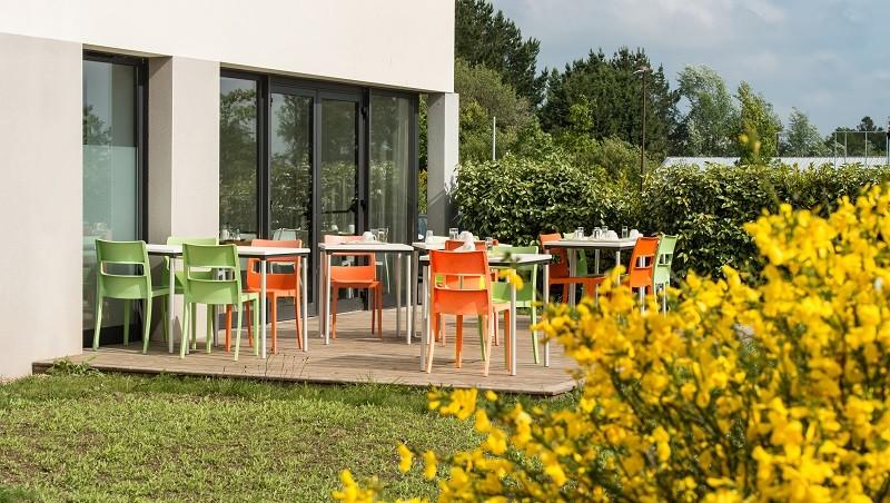 Hôtel Econuit Guérande jardin