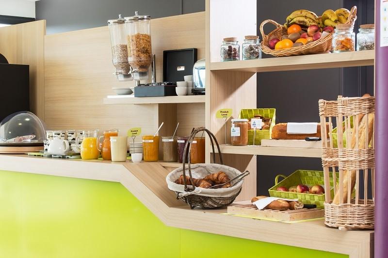 Hôtel Econuit Guérande - petit-déjeuner