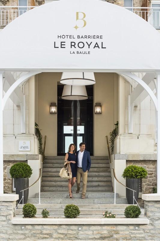 La Baule - Hôtel Barrière Le Royal - Entrée