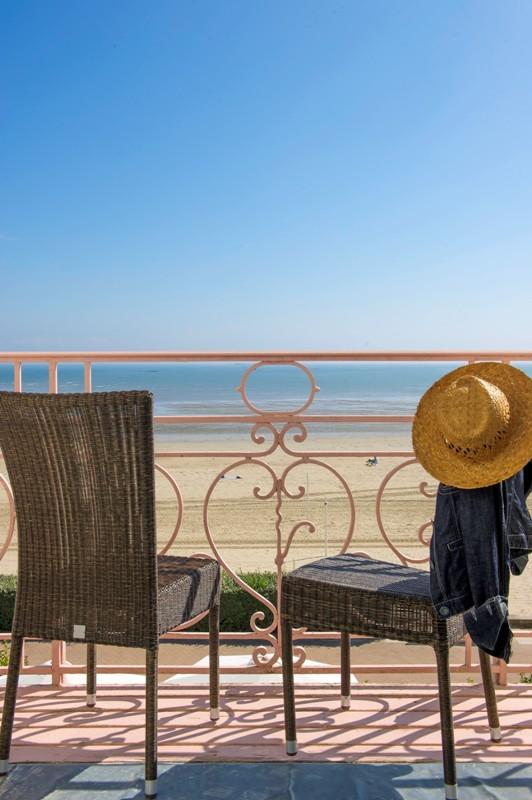 La Baule - Hôtel La Villa Caroline - Balcon vue mer