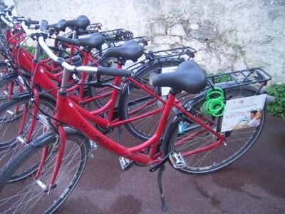 01 - Location de vélos - Hôtel Les Chants d'Ailes La Turballe