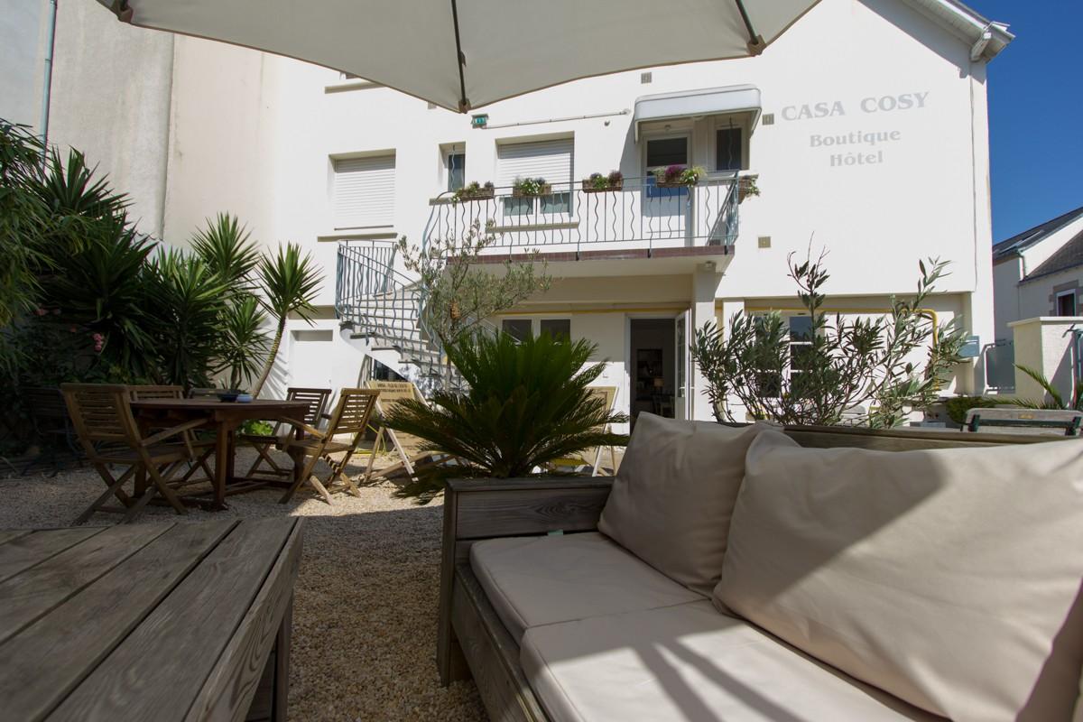 Terrasse Hôtel Le Casa Cosy  Le Pouliguen
