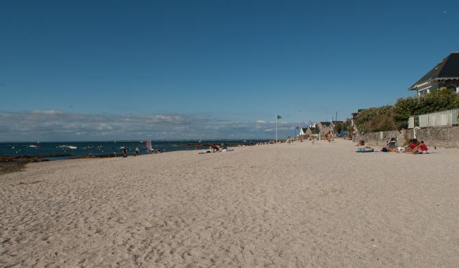 Vue de la plage Saint-Michel à Piriac-sur-Mer