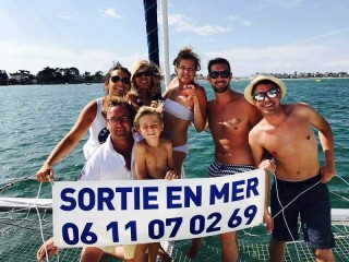 01 - Sortie en Mer Catamaran - Port La Baule - Le Pouliguen