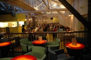 Guérande marais salants, restaurant Hoa, vue salle
