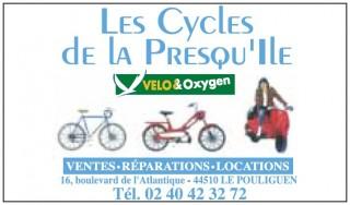 Les Cycles de la Presqu'île - Location de vélos - Le Pouliguen