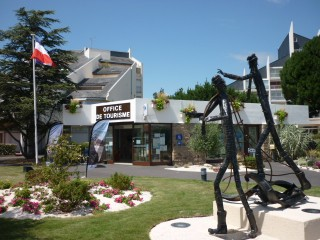 The Tourist Office in Le Pouliguen