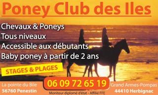 01-Poney Club des Îles Pénestin Bretagne Plein Sud
