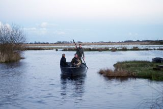 Promenade en chaland (barque traditionnelle)