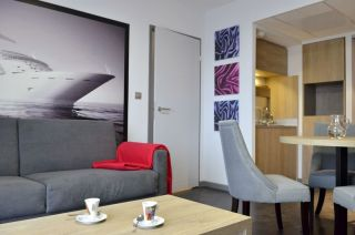 Résidence Kyriad Prestige à Saint Nazaire aux portes de la Brière -Intérieur d'un appartement