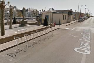 Stationnement vélos aire du petit bassin Le Pouliguen