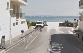 Stationnement vélos plage du Nau Le Pouliguen