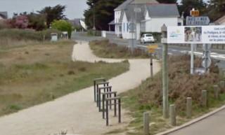 Stationnements vélos Baie du Scall Le Pouliguen