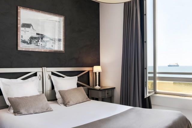 01 - Hotel de la Plage  Chambre vue sur mer Saint-Mars-sur-Mer Saint-Nazaire Bretagne Plein Sud