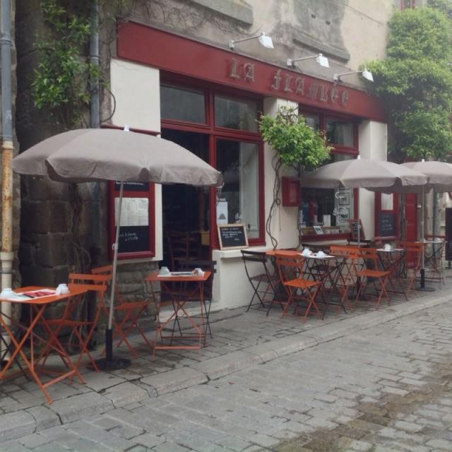 01-La Flambée - Crêperie, glacier, salon de thé - Guérande