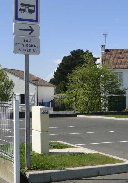 Aire pour camping-cars à Montoir en Brière