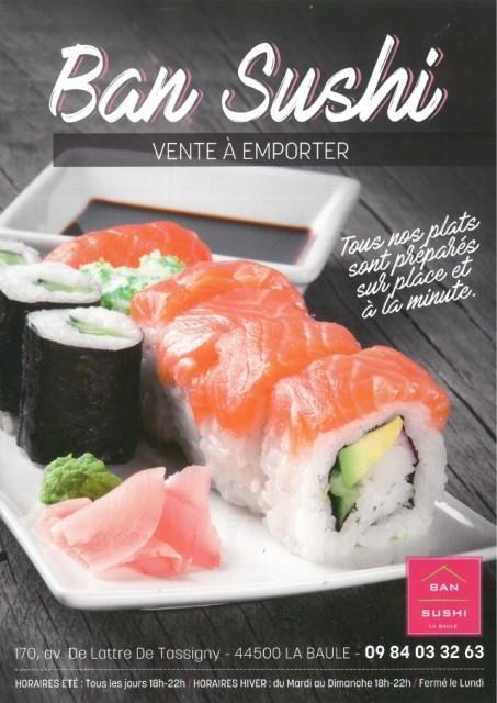 Ban Sushi - la Baule