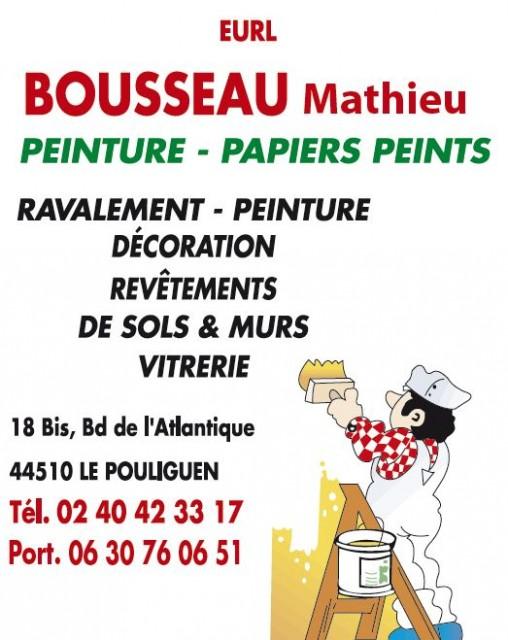 Peinture/Papiers-Peints Bousseau Mathieu Le Pouliguen