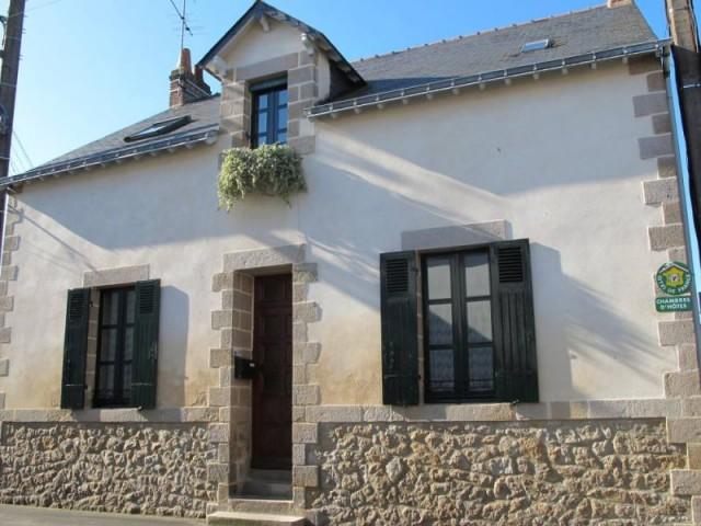 Chambres d'hôtes M. Youinou au Croisic, façade