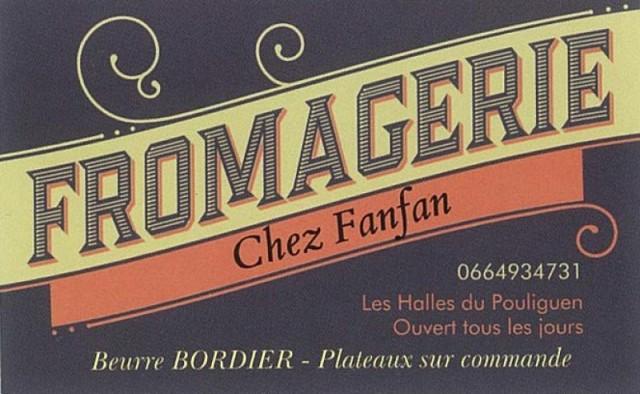 Chez Fanfan - Fromagerie et Crèmerie Place du Marché Le Pouliguen