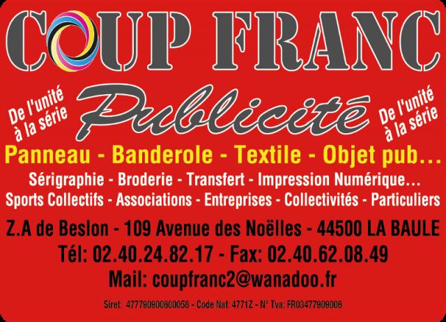 Coup Franc Publicité Guérande