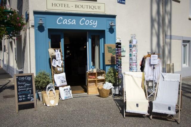 Devanture Boutique Décoration - Épicerie Gourmande - Cadeaux - Casa Cosy - Le Pouliguen