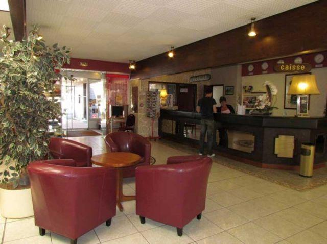 Hôtel Aquilon à Saint-Nazaire, l'accueil