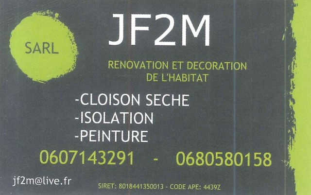 SARL JF2M - rénovation et décoration de l'habitat au Pouliguen et en Loire-Atlantique