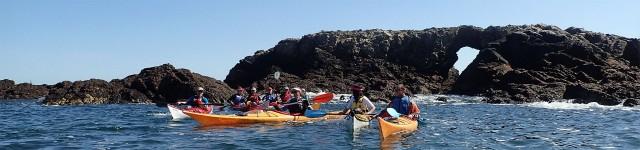 La Pierre Percée - Canoë Kayak Presqu'île Côte d'Amour