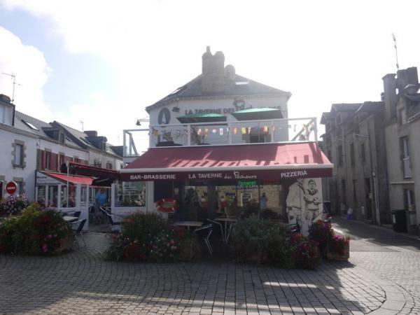 La Taverne des pêcheurs, La Turballe, façade extérieure