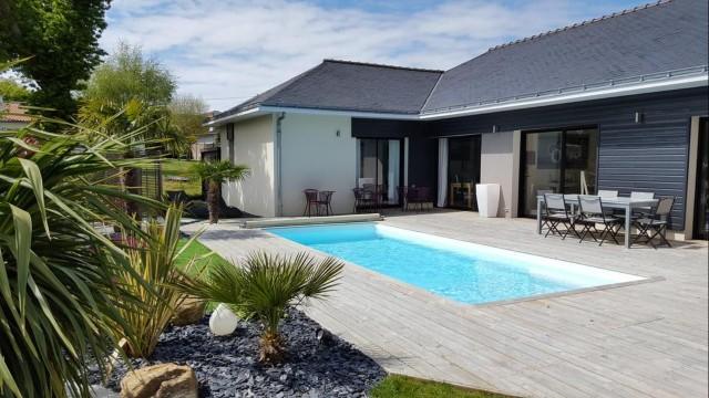 La Villa d'Escoublac-chambre d'hôtes- piscine-La Baule
