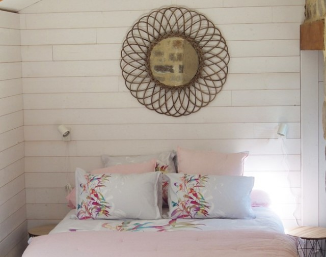 Le Jardin - chambre Guerande intra-muros 2 personnes -le-lit