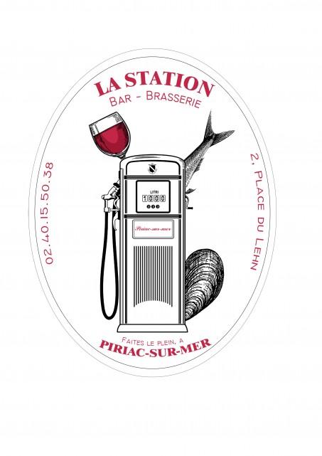 Logo Brasserie La Station - Piriac sur Mer