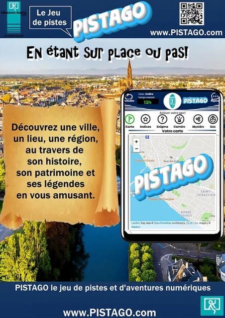 Pistago : jeu de piste à Guérande
