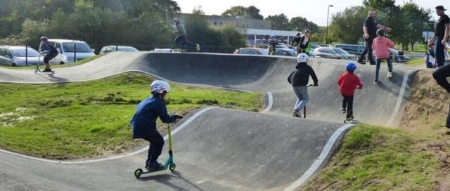 Pumptrack BMX Skate Roller - Saint Lyphard