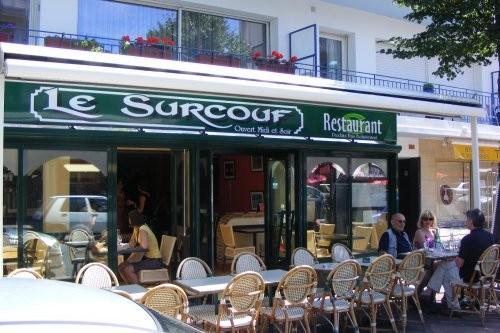 Terrasse du restaurant Le Surcouf La Baule