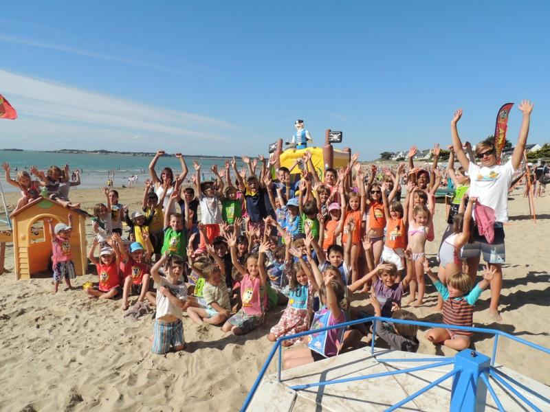 01-Club de plage les Mouettes - plage de Sorlock à Mesquer