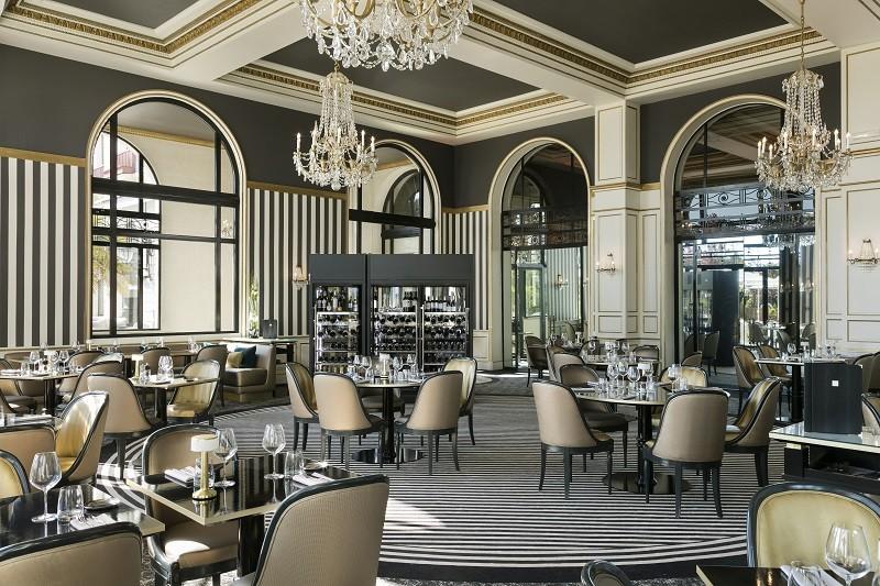 La Baule - Restaurant La Terrasse - Intérieur - © Fabrice Rambert