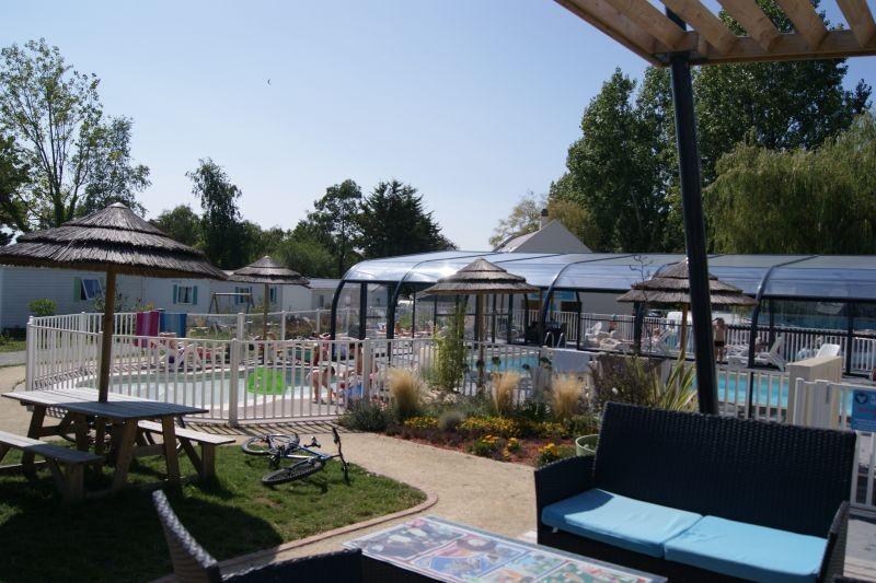 Guérande Camping le Panorama proche marais salants, Espace détente et piscine