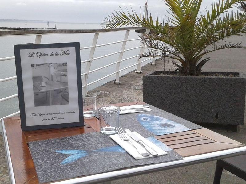 Restaurant L'Opéra de la Mer sur la Promenade du Port au Pouliguen