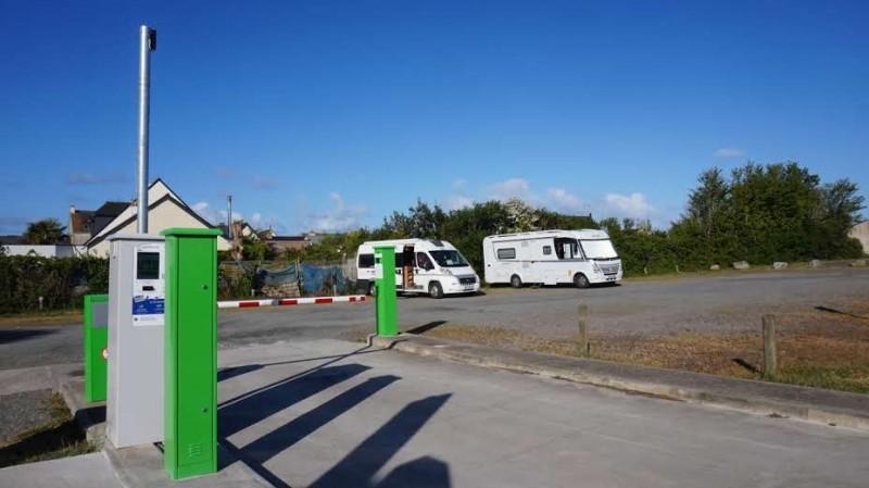 Aire camping-car Park, rue Alphonse Daudet à La Turballe