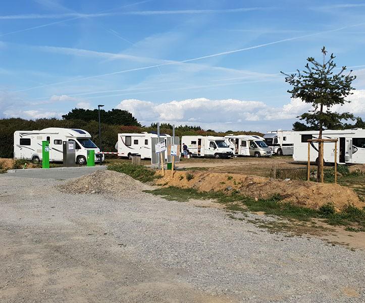 Aire de camping-car du Beschet Pénestin