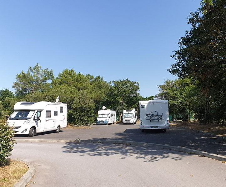 Aire de camping-cars de Lérat