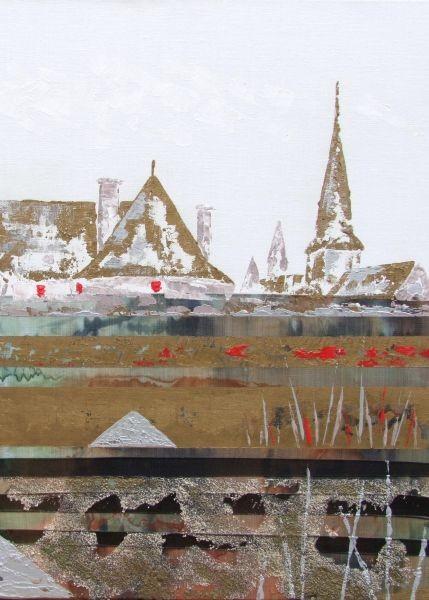 Atelier De Kerhuel : Gwenrann Acrylique sur toile