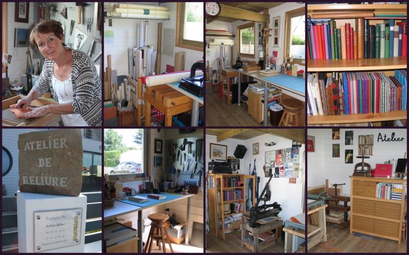 Atelier de reliure Brigitte Le Vu - Mesquer