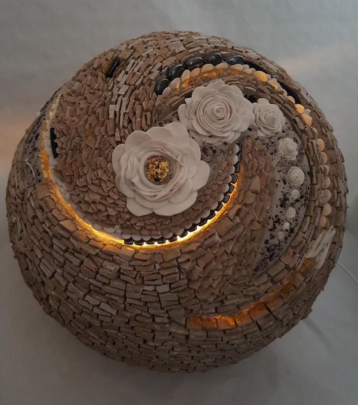 Atelier Galerie Sophia Rancatore, Guérande - Fleur lumineuse d'ambiance