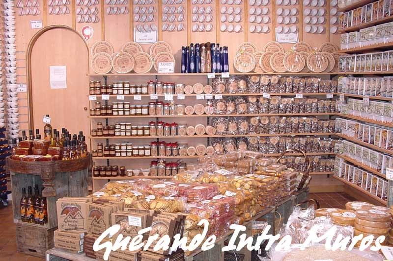 Biscuiterie des Marais, magasin à Guérande Intra-muros