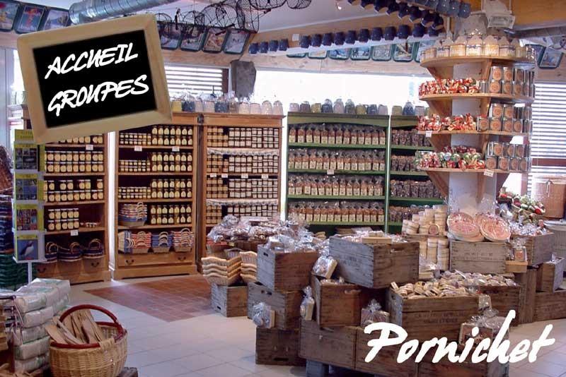 Biscuiterie des Marais, magasin à Pornichet