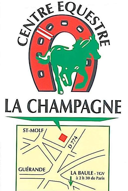 Centre équestre la Champagne - logo - Saint-Molf
