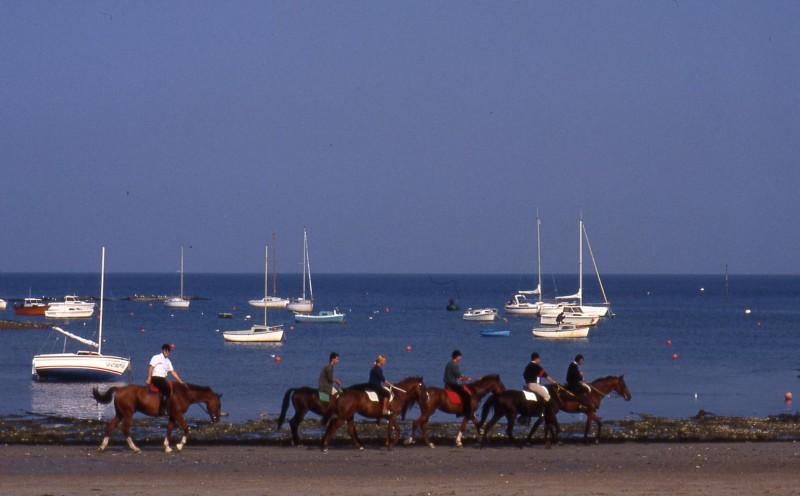 Centre équestre et poney club du Bel Air - Mesquer Quimiac - Balade sur la plage